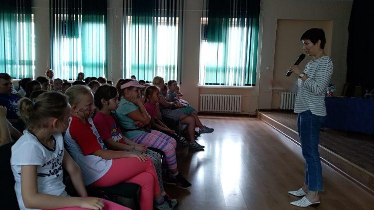 Spotkanie autorskie                z Izabelą Klebańską